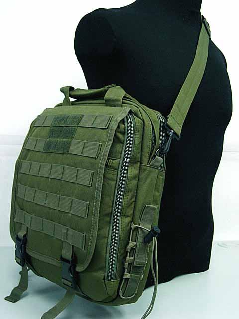 Molle Utility Shoulder Bag Notebook Case Od For 24 14 Tacticalgeartrade