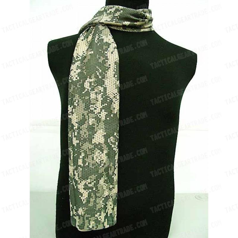 USMC Army Scrim Scarf Face Veil Mask Digital ACU Camo