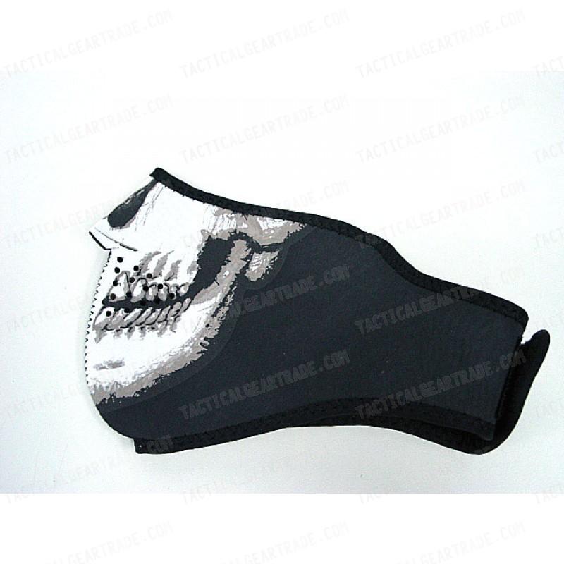 Navy Seal Army Skull Neoprene Half Face Protector Mask For