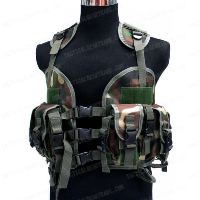 Seal Camo Woodland Cqb Us Assault Vest Navy Modular Lbv QdCthrxBs