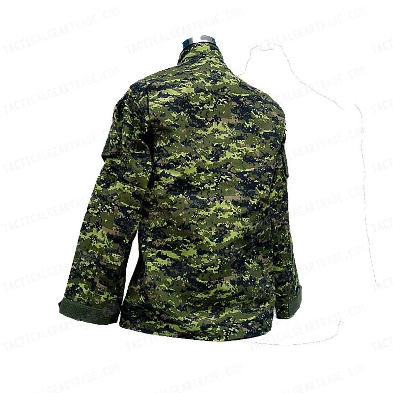 Canadian CADPAT Digital Camo Woodland BDU Uniform Set