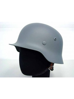 WWII WW2 German MOD M35 Luftwaffe Steel Helmet Gray