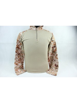 USMC Tactical Combat Shirt Type B Digital Desert Camo