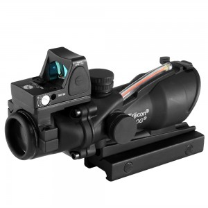 ACOG Type TA01NSN 4x32 Cross Sight Scope w/OP Red Dot Sight