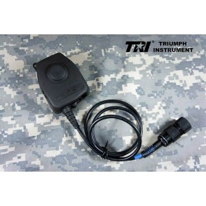 TRI Instrument PRC-152 (UV) Customer made [PELTOR PTT Original Waterproof Launch Switch] Handy Ptt for PRC-148 / PRC-152