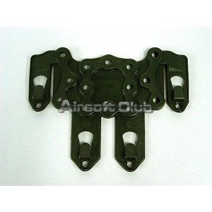 Airsoft STRIKE Molle CQC Holster Platform Panel OD