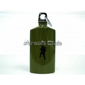 Stainless Steel Canteen Hydration Water Bottle OD #L