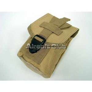 Molle 1Qt Canteen Utility Pouch Coyote Brown