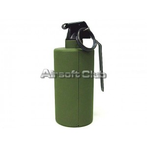 SY Gas Powered Flash Bang Hand Metal Grenade OD SY858