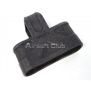 7.62 NATO Rifle Ammo Magazine Grip Holder Black