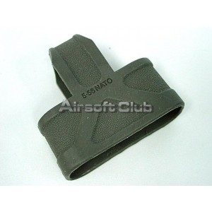 5.56 .223 NATO Ammo Magazine Grip Holder OD