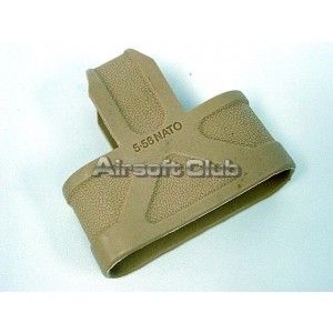 5.56 .223 NATO Ammo Magazine Grip Holder Tan