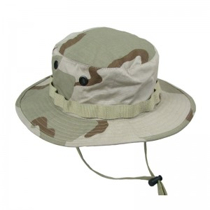 Military Boonie Hats 3 Color Desert Camo