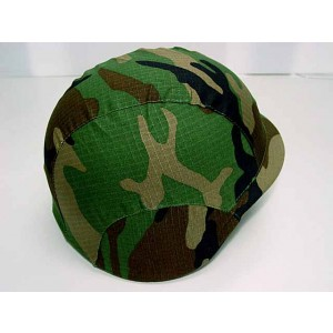 US Army M88 PASGT Helmet Cover Camo Woodland