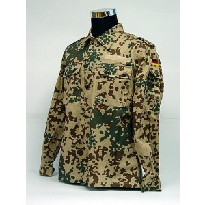 German Army Desert Camo BDU Uniform Set Shirt Pants