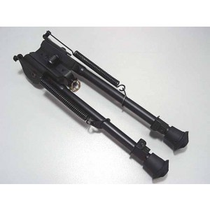 """Spring Eject Rest Rifle Airsoft 9\""""-15\"""" Shooter Bipod"""