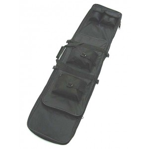 "48"" Dual Rifle Carrying Case Gun Bag Black"