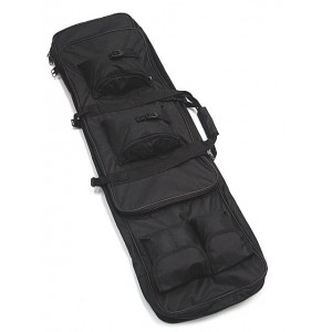 "40"" Dual Rifle Carrying Case Gun Bag Black"