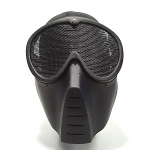 Airsoft Paintball Full Face No Fog Goggle Mask Black