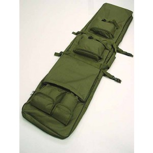 "40"" Dual Rifle Carrying Case Gun Bag OD"