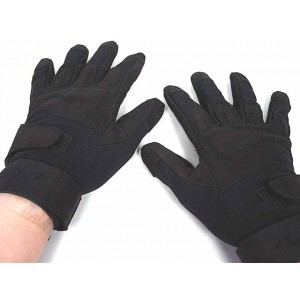 Special Operation Tactical Full Finger Assault Gloves Black