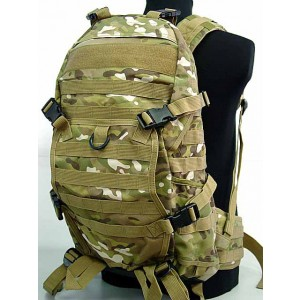 Tactical Molle Patrol Rifle Gear Backpack Multi Camo
