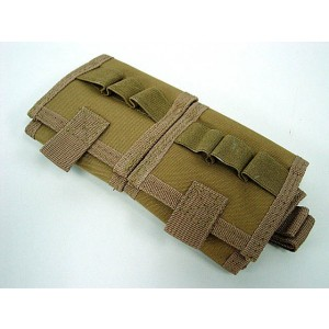 Molle Shotgun Shell Holder Carrier Pouch Coyote Brown