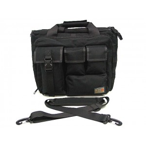Airsoft Tactical Shoulder Bag Pistol Case Black