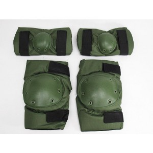 SWAT Special Force Knee & Elbow Pads OD