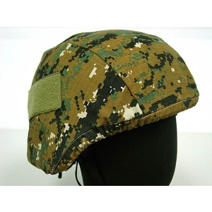 USGI MICH TC-2000 ACH Helmet Cover Digital Camo Woodland #A