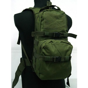 Tactical Utility Molle 3L Hydration Water Backpack OD