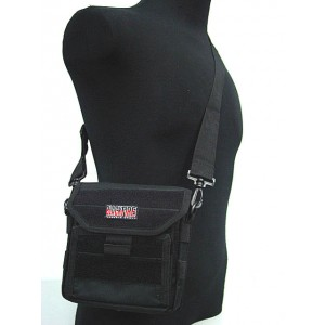 Molle Combat Admin Map ID Pouch Sling Bag Black