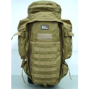 9.11 Tactical Full Gear Rifle Combo Backpack Coyote Brown