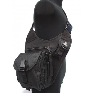 Military Universal Utility Shoulder Bag Black