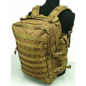 Tactical Molle Large Assault Gear Medical Backpack Coyote Brown