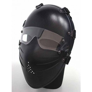Tactical Full Face Airsoft Killer Mask w/ Goggle Black