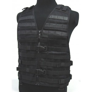 Airsoft Tactical Molle STRIKE Hunting Mesh LBE Vest BK