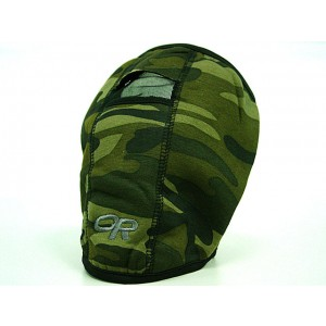 Airsoft Warmskin Half Face Protector Mask Camo Woodland