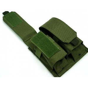 Airsoft Molle Double Magazine Pouch OD