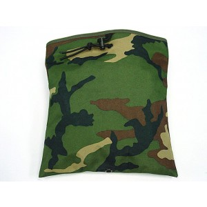 Molle Large Magazine Tool Drop Pouch Camo Woodland