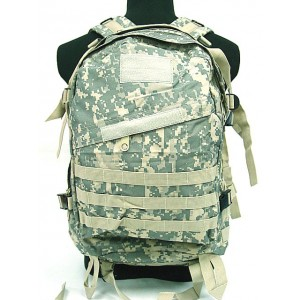 3-Day Molle Assault Backpack Digital ACU Camo