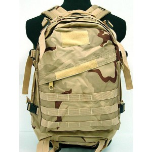 3-Day Molle Assault Backpack Desert Camo