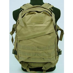 3-Day Molle Assault Backpack Coyote Brown
