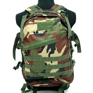 3-Day Molle Assault Backpack Camo Woodland