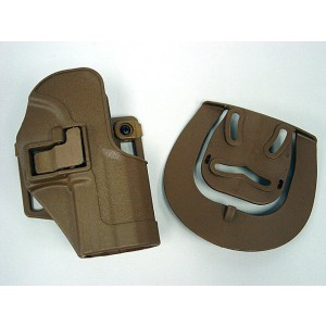 CQC Tactical H&K USP Compact RH Pistol Paddle & Belt Holster Tan