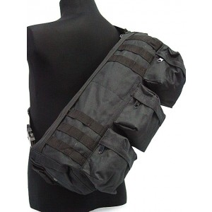 Transformers Tactical Shoulder Go Pack Bag Black