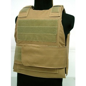 Black Hawk Down Body Armor Plate Carrier Vest Coyote Brown