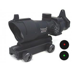 ACOG Type TA01NSN 1x30 Red/Green Dot Sight Scope w/QD Mount