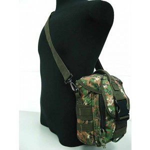 Molle Shoulder Bag Tools Mag Drop Pouch Digital Camo Woodland
