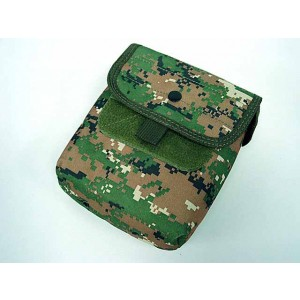Molle Large Utility Tools Drop Pouch Digital Camo Woodland
